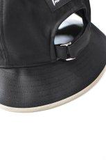画像7: 【SALE】Indietro Association (インディエトロアソシエーション) Sunshade cap [BLACK] (7)