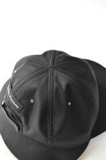 画像5: 【SALE】Indietro Association (インディエトロアソシエーション) Sunshade cap [BLACK] (5)