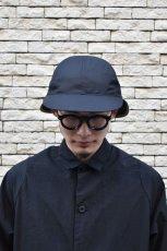 画像9: 【SALE】Indietro Association (インディエトロアソシエーション) Sunshade cap [BLACK] (9)