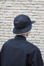 画像12: 【SALE】Indietro Association (インディエトロアソシエーション) Sunshade cap [BLACK] (12)