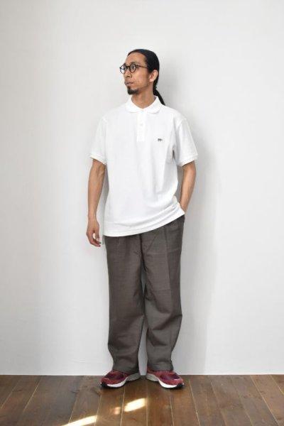 画像2: SCYE BASICS (サイベーシックス) Cotton Pique Polo Shirt [2-colors]