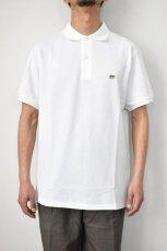 画像11: SCYE BASICS (サイベーシックス) Cotton Pique Polo Shirt [2-colors] (11)