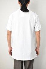 画像13: SCYE BASICS (サイベーシックス) Cotton Pique Polo Shirt [2-colors] (13)
