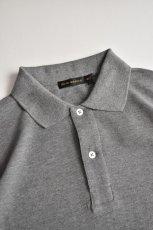 画像6: SCYE BASICS (サイベーシックス) Cotton Pique Polo Shirt [2-colors] (6)