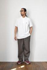 画像14: SCYE BASICS (サイベーシックス) Cotton Pique Polo Shirt [2-colors] (14)