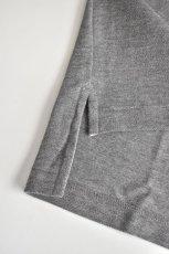 画像10: SCYE BASICS (サイベーシックス) Cotton Pique Polo Shirt [2-colors] (10)