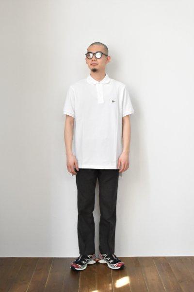 画像1: SCYE BASICS (サイベーシックス) Cotton Pique Polo Shirt [2-colors]