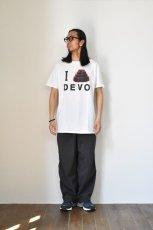 """画像9: 【SALE】MUSIC TEE (ミュージックティー) DEVO """"I DOME DEVO"""" [WHITE] (9)"""