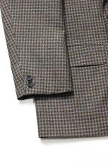 画像5: Scye (サイ) Shetland Wool Tweed D・B Short Coat [CAMEL] (5)