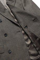 画像8: Scye (サイ) Shetland Wool Tweed D・B Short Coat [CAMEL] (8)