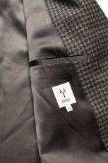 画像10: Scye (サイ) Shetland Wool Tweed D・B Short Coat [CAMEL] (10)