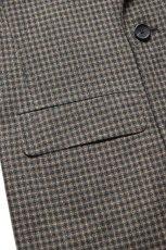 画像7: Scye (サイ) Shetland Wool Tweed D・B Short Coat [CAMEL] (7)