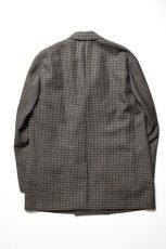 画像11: Scye (サイ) Shetland Wool Tweed D・B Short Coat [CAMEL] (11)