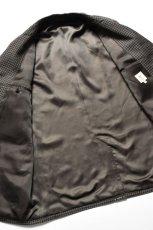 画像9: Scye (サイ) Shetland Wool Tweed D・B Short Coat [CAMEL] (9)