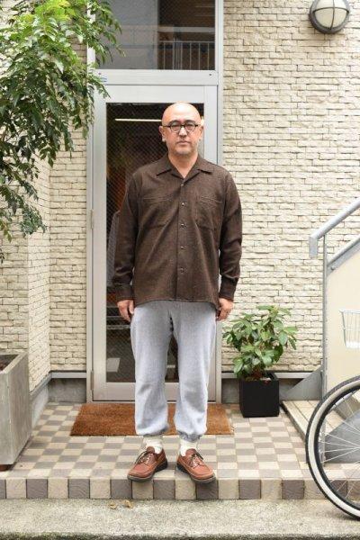 画像2: MOJITO (モヒート) ABSHINTH SHIRT Bar.2.0 -wool nep stretch- [BLK]