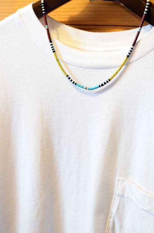画像1: Dorene Calabaza (ドレーネ・カラバサ) Multi Color Heishe Choker (1)