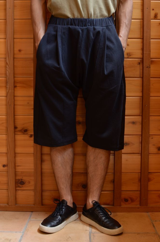 画像1: 【MORE SALE】 WILLY CHAVARRIA (ウィリー キャバリア) BUFFALO JOGGER SHORTS〔BLACK〕 (1)
