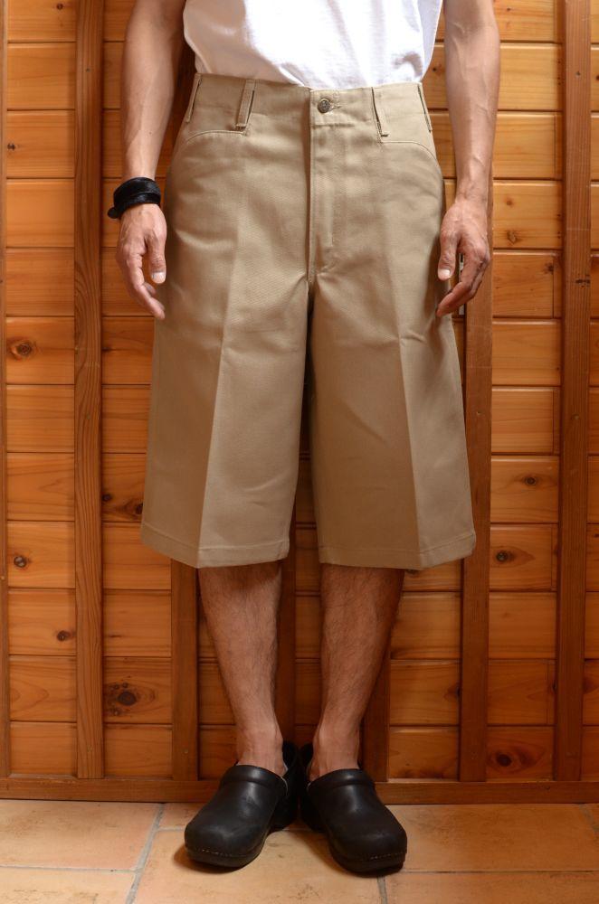 画像1: 【MORE SALE】 Ben Davis(ベンデイビス) Original Ben's Shorts 〔BEIGE〕 (1)