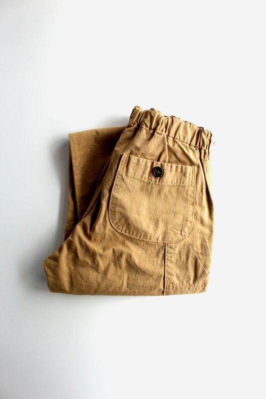 画像1: orslow (オアスロウ) FRENCH WORK PANTS [khaki] (1)