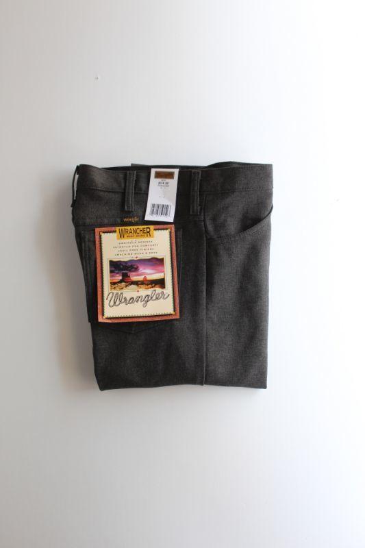 画像1: Wrangler (ラングラー) Wrancher Dress Jeans [H.BLACK] (1)