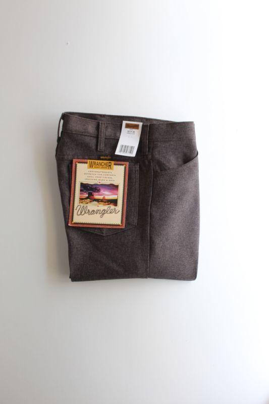 画像1: Wrangler (ラングラー) Wrancher Dress Jeans [H.DARK CHOCO] (1)