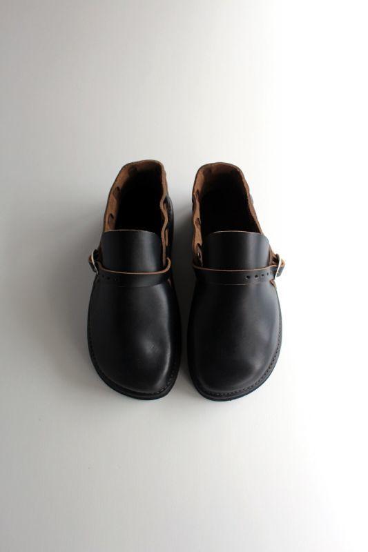 画像1: Fernand Leather(フェルナンドレザー)Middle English〔BLACK〕 (1)