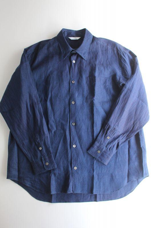 画像1: 【MORE SALE】FUJITO (フジト) B/S Shirt [INDIGO] (1)