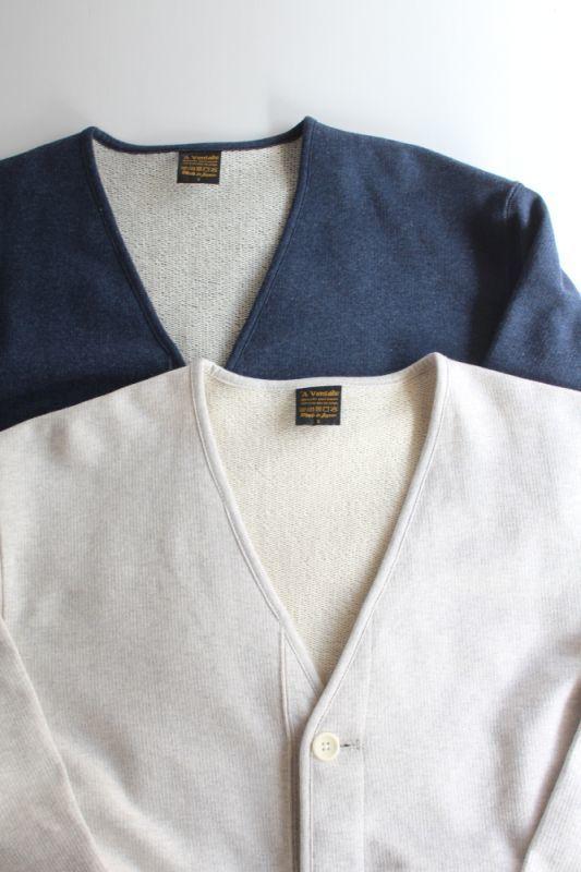 画像1: 【MORE SALE】*A VONTADE (アボンタージ) USN Sweat Cardigan -Modify- [2-colors] (1)