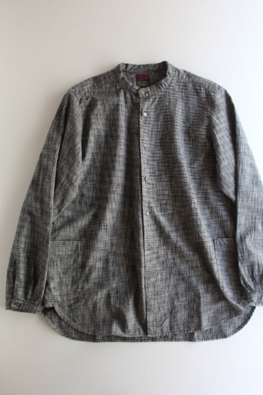 画像1: BRU NA BOINNE (ブルーナボイン) ヒーラーカスリスナフシャツ (1)
