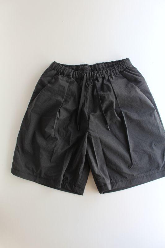 画像1: TEÄTORA (テアトラ) Wallet Shorts -packable horizon-  [BLACK] (1)