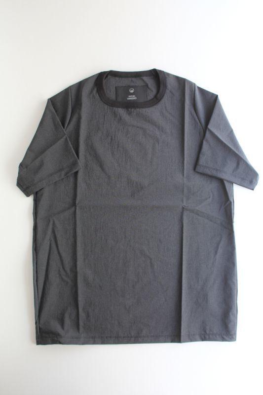 画像1: TEÄTORA (テアトラ) CARTRIDGE TEE -packable horizon-  [BLACK] (1)