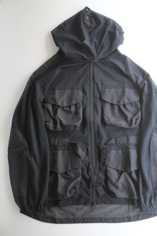 画像1: 【MORE SALE】snow peak(スノーピーク) Insect Shield Jacket [BLACK] (1)