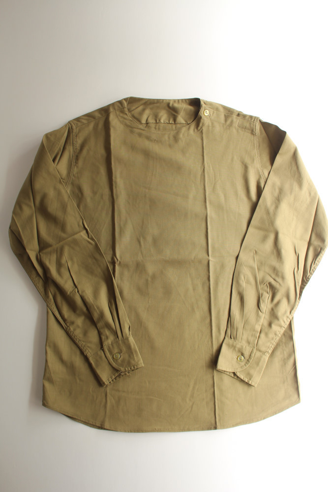 "画像1: ROMANIAN ARMY Sleeping Shirt Crew Neck ""deadstock"" (1)"