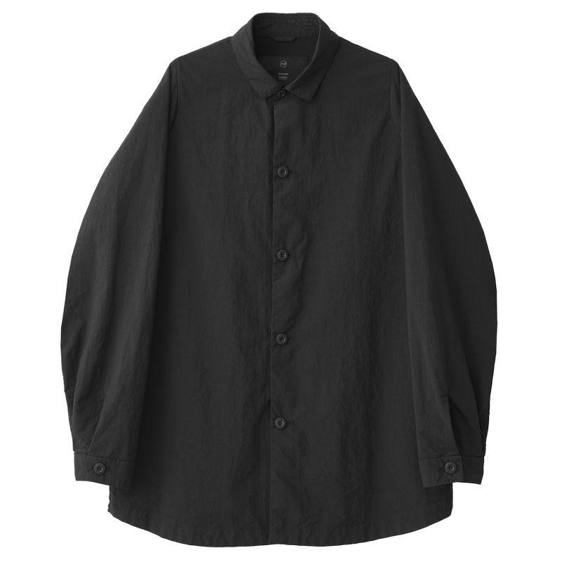 画像1: TEÄTORA (テアトラ) CARTRIDGE SHIRT -Packable- [BLACK] (1)