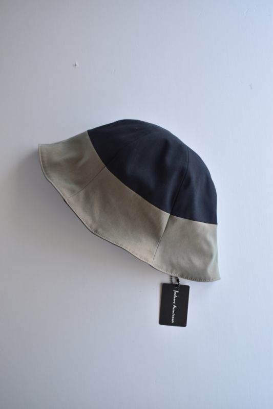 画像1: 【MORE SALE】Indietro Association (インディエトロアソシエーション) Tulip Hat [BLACK] (1)