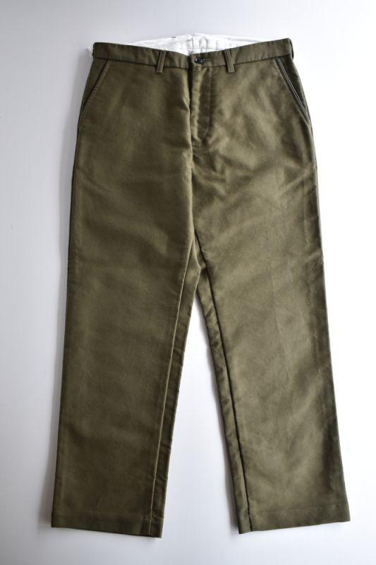 画像1: 【MORE SALE】FUJITO (フジト) Tapered Pants [OLIVE GREEN] (1)