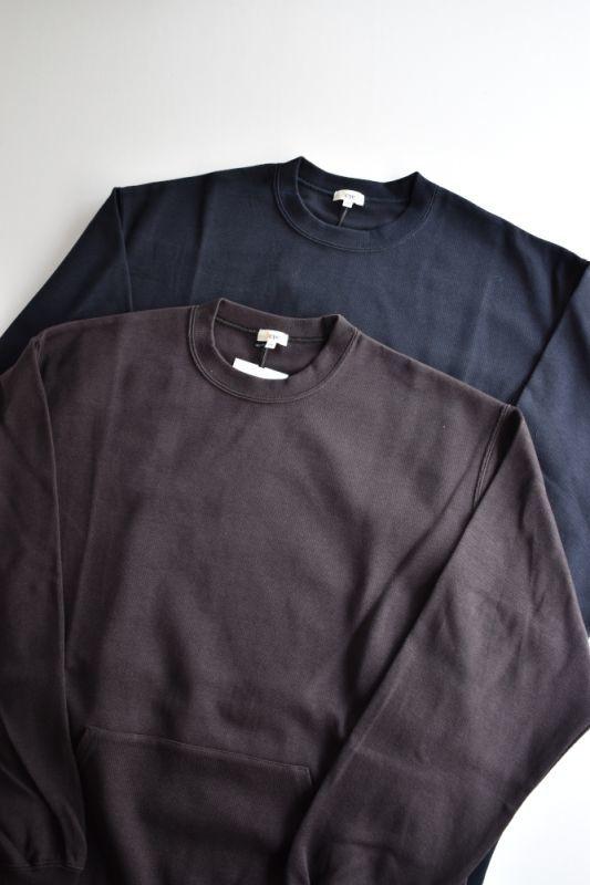 画像1: Scye (サイ) Double Faced Cotton Crewneck Top [2-colors] (1)