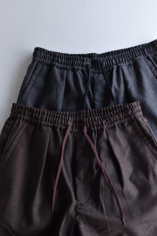 画像1: 【MORE SALE】*A VONTADE (アボンタージ) Comfort Wide Easy Trousers [2-colors] (1)