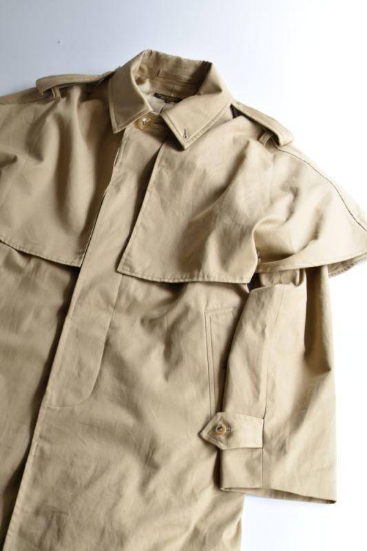 画像1: 【MORE SALE】*A VONTADE (アボンタージ) Inverness Long Coat [BEIGE] (1)