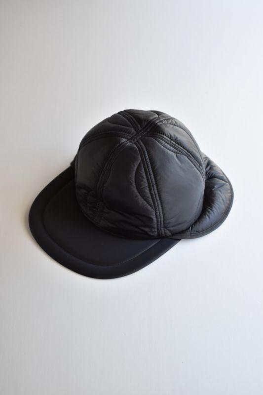 画像1: 【MORE SALE】Indietro Association (インディエトロアソシエーション) Quilting Cap [BLACK] (1)