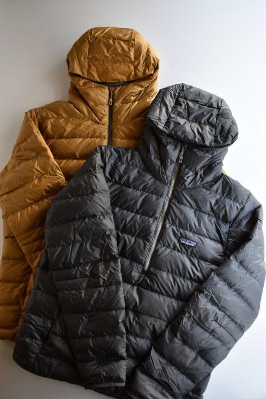 画像1: patagonia (パタゴニア) ダウン・セーター・フーディ・プルオーバー  [2-colors] (1)