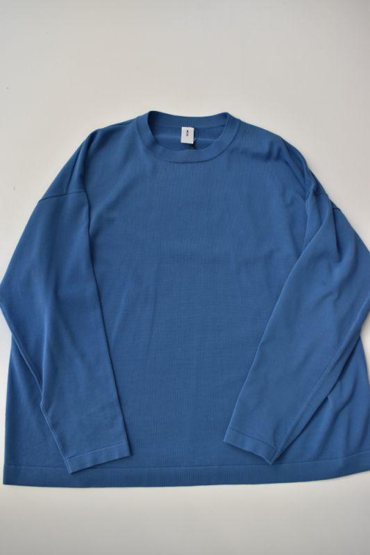 画像1: MEIAS (メイアス) GOOD LONG TEE [BLUE] (1)