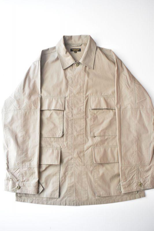 画像1: *A VONTADE (アボンタージ) BDU Tropical Jacket -Yarn Dyed Ripstop- [KHAKI] (1)