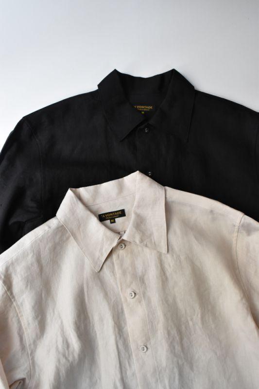 画像1: *A VONTADE (アボンタージ) Gardener Shirts L/S -Linen- [2-colors] (1)