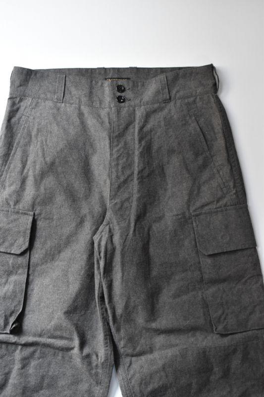 画像1: *A VONTADE (アボンタージ) 40's French Army Trousers [CHARCOAL] (1)