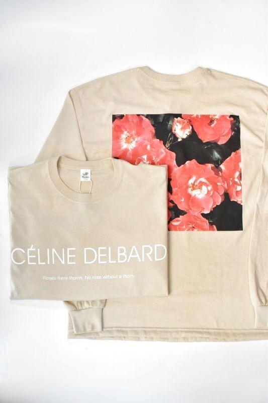 画像1: Niche. (ニッチ) ROSE L/S T-Shirts [CÉLINE DELBARD] (1)