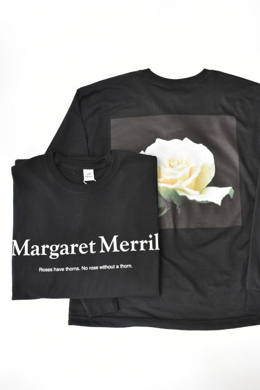 画像1: Niche. (ニッチ) ROSE L/S T-Shirts [Margaret Merril] (1)
