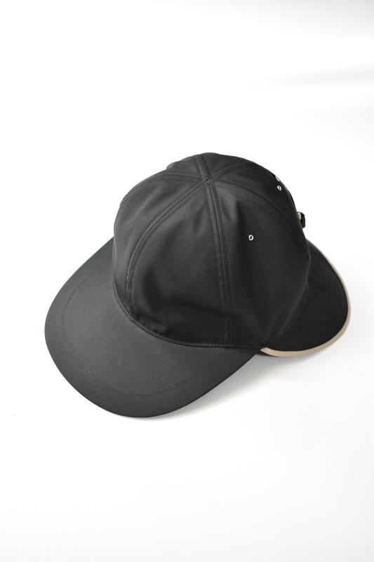画像1: 【SALE】Indietro Association (インディエトロアソシエーション) Sunshade cap [BLACK] (1)