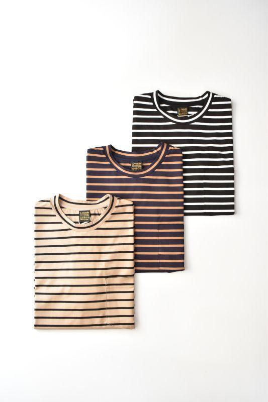 画像1: *A VONTADE (アボンタージ) Border T-Shirt S/S [3-colors] (1)