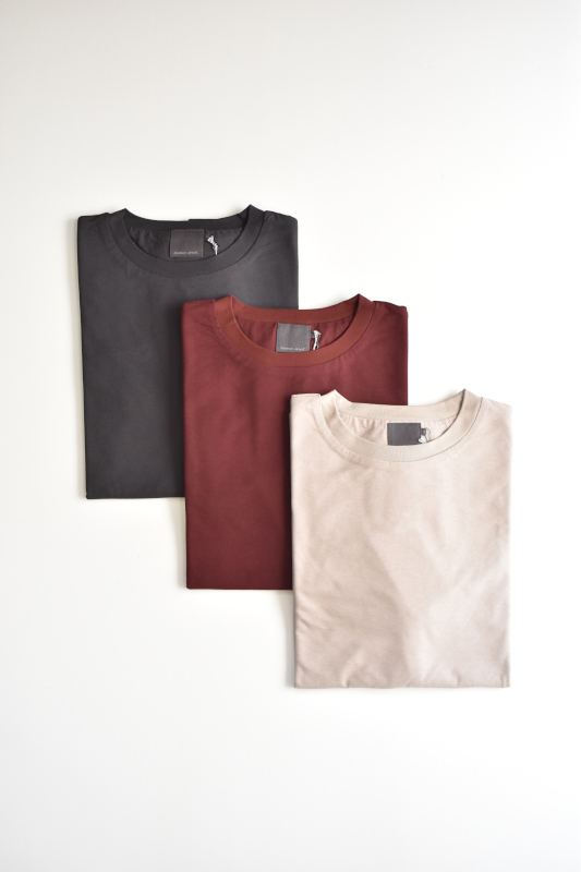 画像1: comm.arch. (コム・アーチ) DOUBLE LAYERED S/S TEE [3-colors] (1)